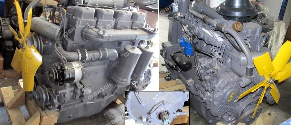 Двигатель А-41-1 (раздельная головка)