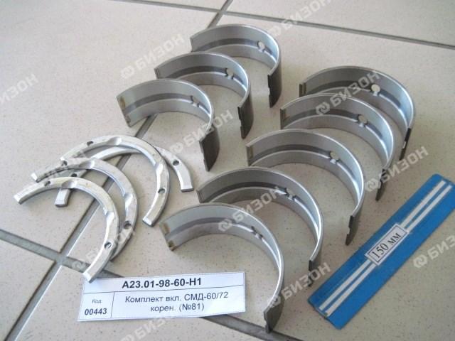 Комплект вкл. СМД-60/72 корен. (№81)
