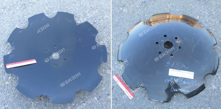 "Диск (""Ромашка"") S=6мм дискатора БДМ 4х4 (Китай)"