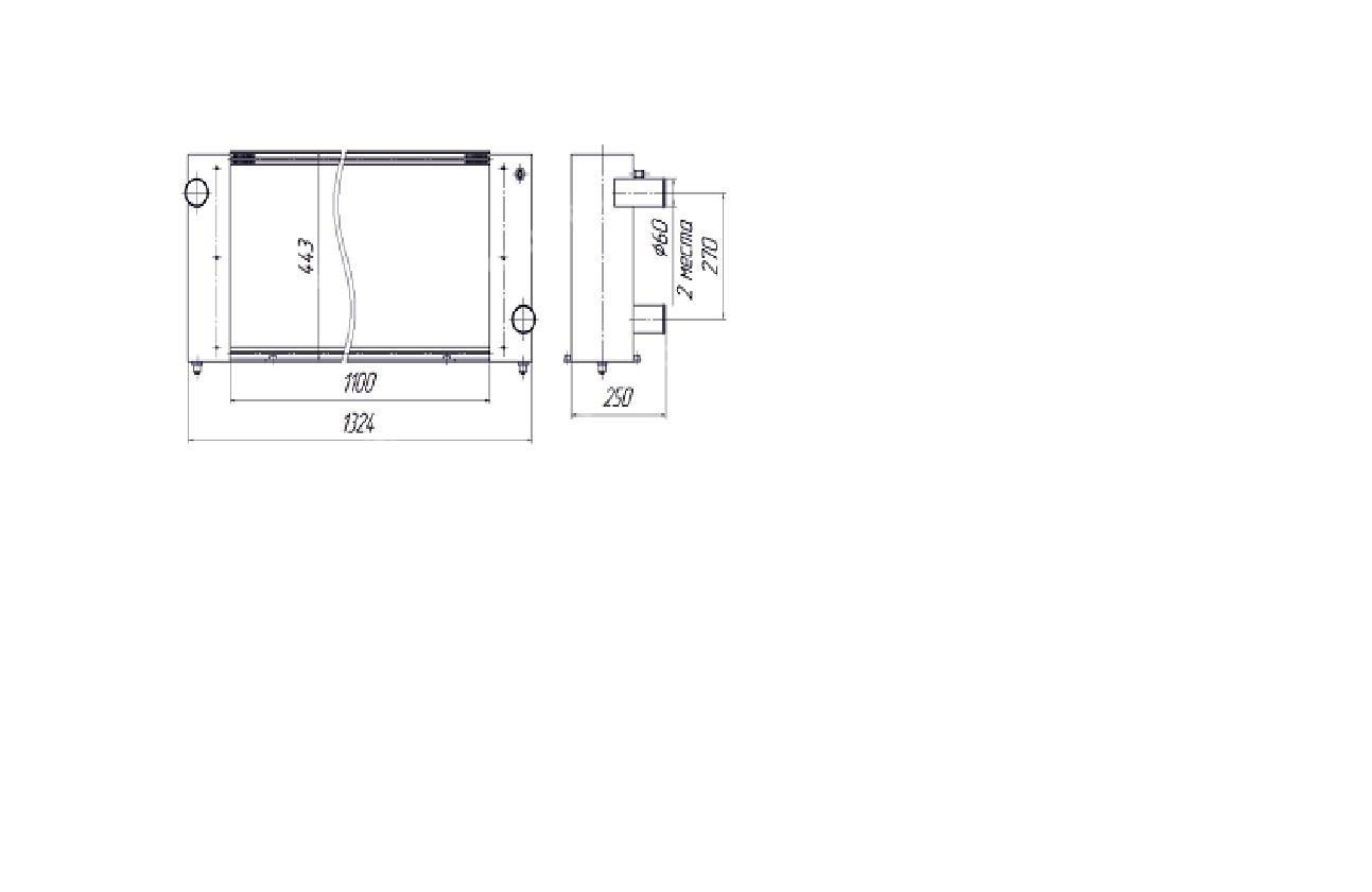 Радиатор водяной (двиг) (КЗС-10К,1218) ПАЛЕССЕ (БМЗ)