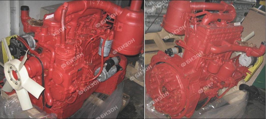 Двигатель Д-242-71 (ЮМЗ-6) стартерный