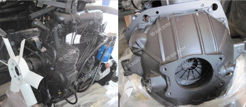 Двигатель Д-245, 105 л.с., переоборудование Зил-130 (ММЗ)