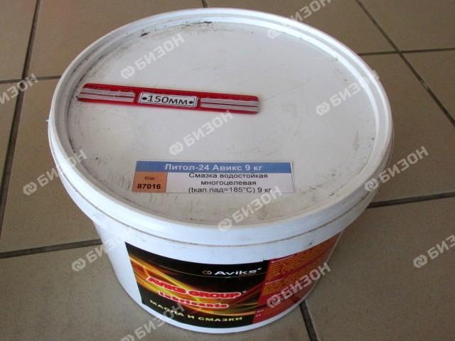 Смазка водостойкая многоцелевая (tкап.пад=185°C) 9 кг