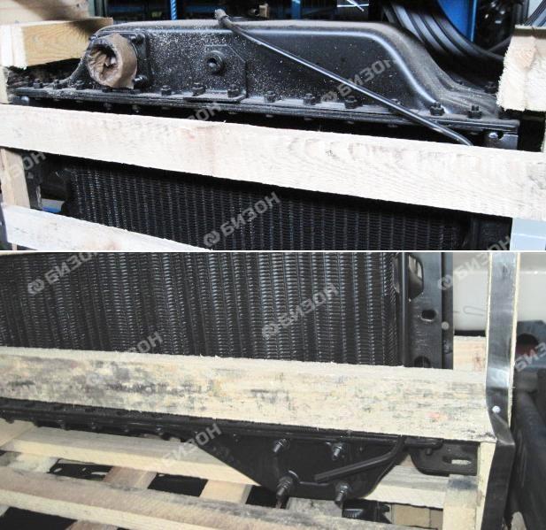 Радиатор водяной А-01, А-41 (4-х рядн.) (БМЗ)