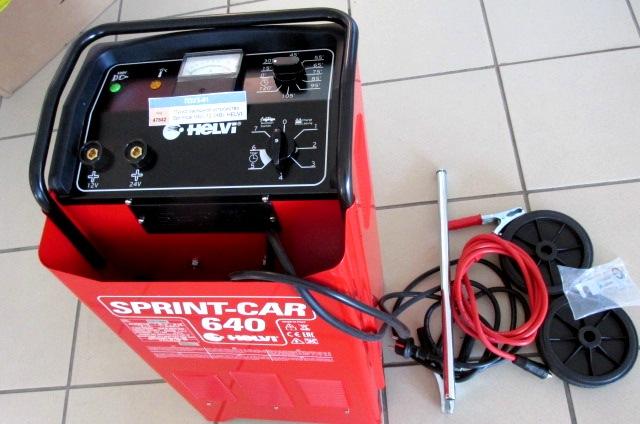 Пуско-зарядное устройство Sprintcar 640 (12-24В), HELVI