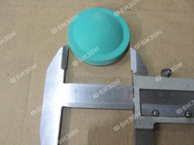 Призма активатора очистки решет (диск Ф=62мм) (резина) МЗС-25