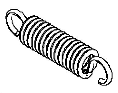 Пружина жесткая 88х20х3,5 мм