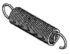 Пружина чувствительная 87х18х1,8 мм (Industrias David)