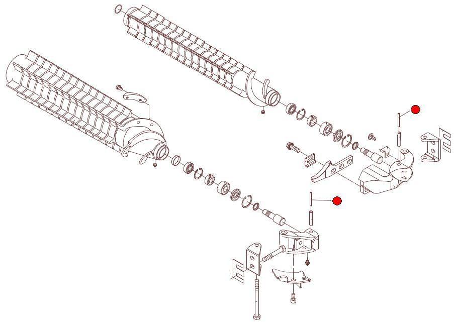 Штифт трубчатый пружинный 6х50 DIN1481 (Герингофф)