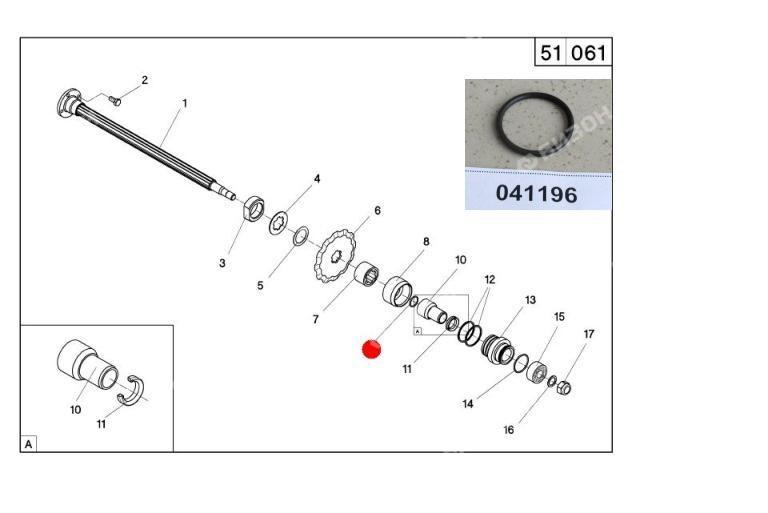 Кольцо 020-024-20 O-RING уплотнит. резин. (Герингофф RD)