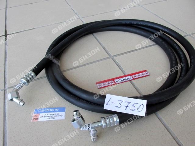 "Хладонопровод L=3800мм (3/4""-16UNF, R-134) (телеф. с заправ. муфтой, компр.- конденс.) (КЗК 1218)"