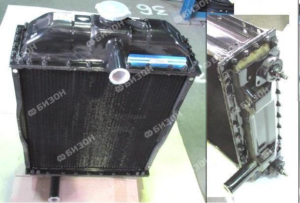 Радиатор водяной Д-245, МТЗ-8хх/9хх/1021/1025 (5-ти рядный)