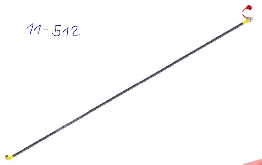 Рукав М18*1,5-0/90 (L=2600) (Г+ Гуг) в сб. с полумуфтой (Айнбек)