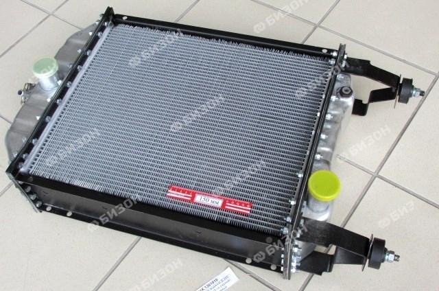Радиатор водяной Д-260, МТЗ-1221 (5-ти рядный) алюминиевый (БМЗ)