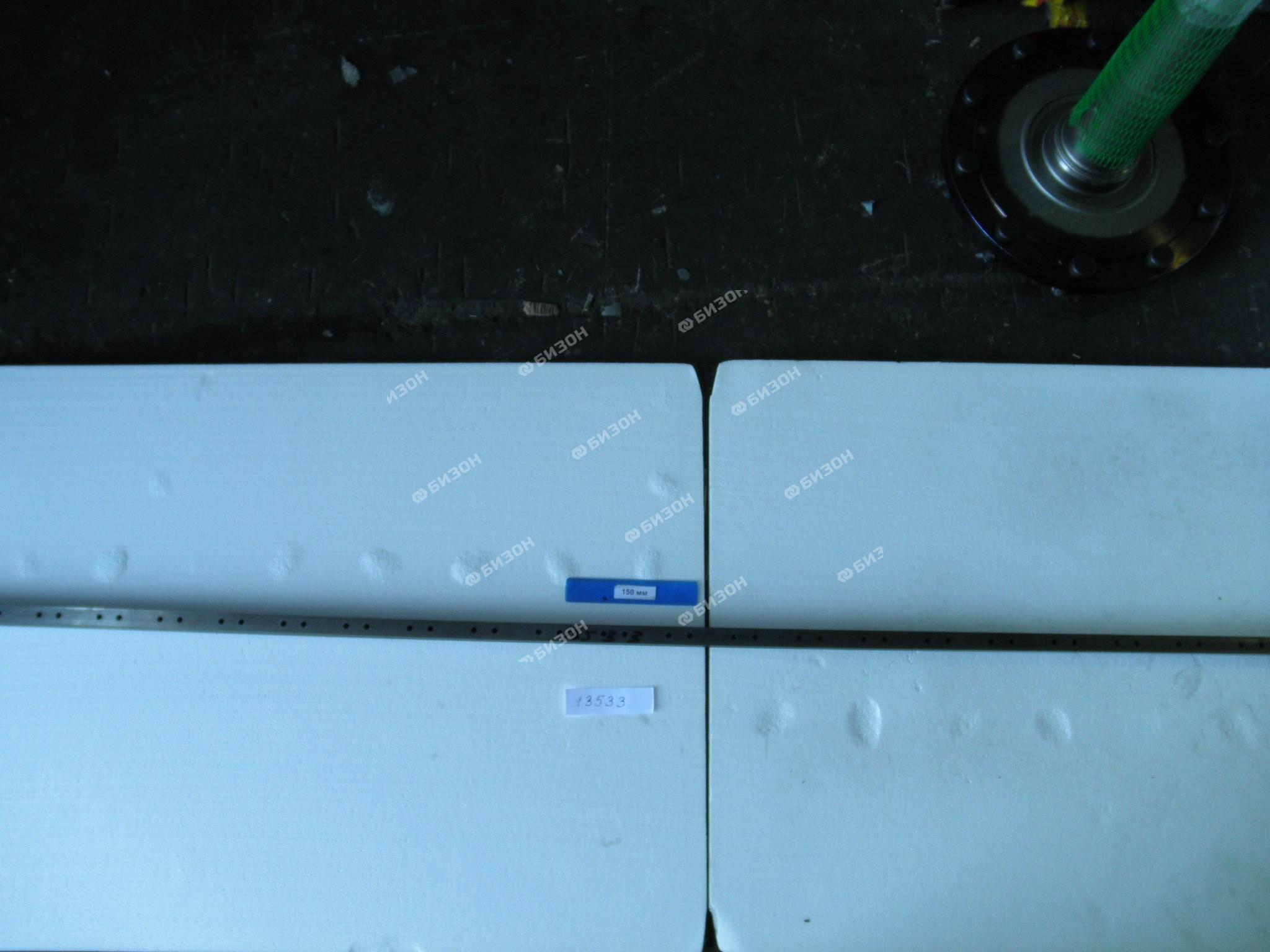Спинка ножа (секция) режущ. аппарата (2440х21х6мм) (с отв. п/31 сегмент) (Шумахер)