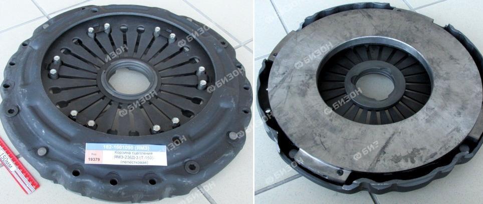 Корзина сцепления ЯМЗ-236Д-3 (Т-150К-09, ХТЗ-17221) (лепестковая)