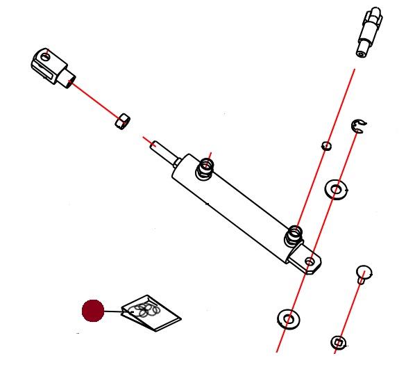 Ремнабор г/цилиндра D-16-32-90-276-M 12 (Alpha Раух)