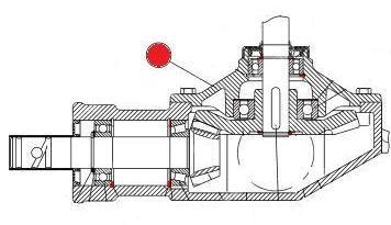 Крышка главной передачи редуктора (MDS Раух)