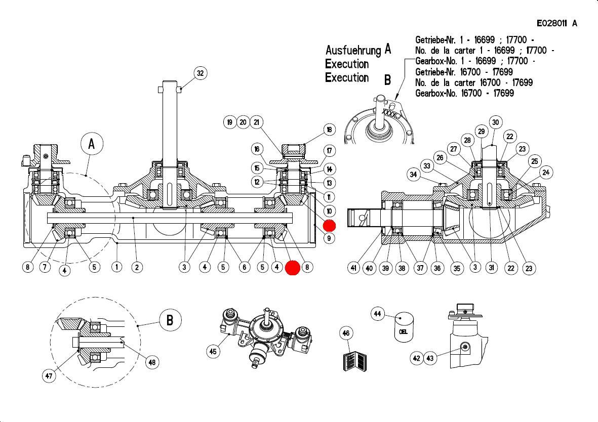 Вал-шестерня ведом. редуктора (MDS Раух)
