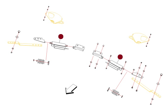 Электромеханизм регулирования заслонок (Alpha Раух)