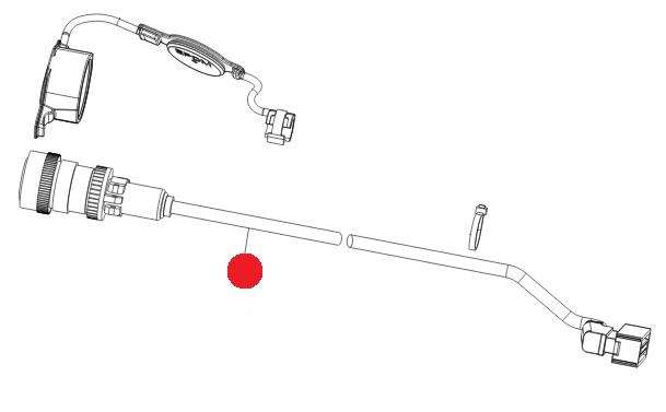 Кабель ISOBUS L=3м (Axis M30.1/40.1, M50.1 Раух)