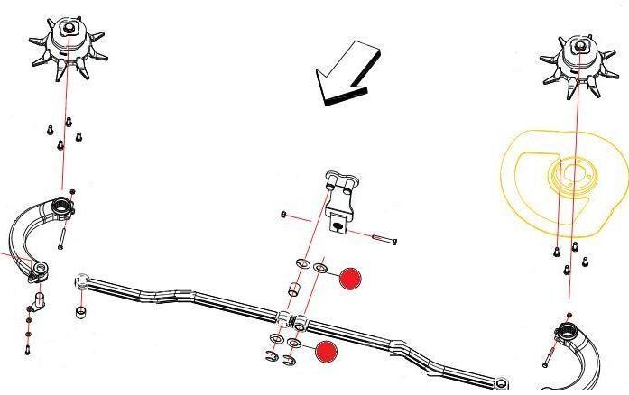 Шайба 20х36х1,5 крепл. рычагов шибера (Axis Раух)