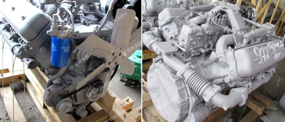 Двигатель ЯМЗ-236Д (Т-150)