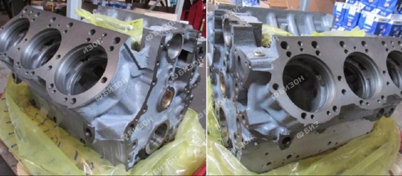 Блок цилиндров ЯМЗ-236 НД/НЕ/БЕ/БК (нов. обр.с 09.2008г)