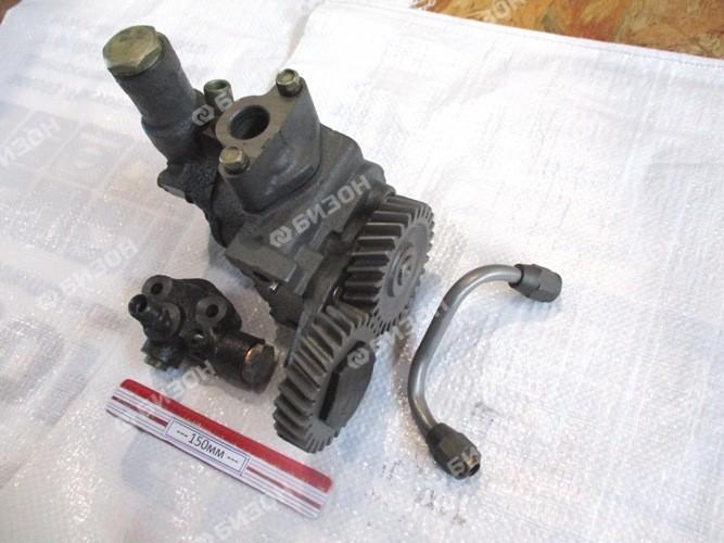 Насос масл. двиг. ЯМЗ-236ДК,238 АК,НД3,4,5 (нов. обр.) (насос+трубопров.+клапан)