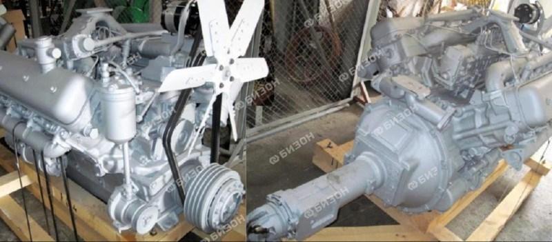 Двигатель ЯМЗ-238АК (ДОН-1500Б) старт., генерат.