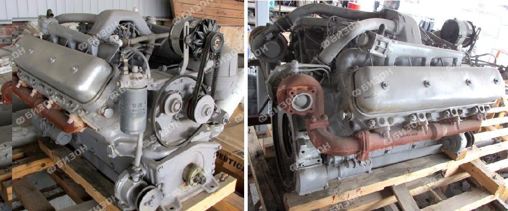 """Двигатель ЯМЗ-238БК-3 для УЭС-2-280А """"Полесье"""" (Гомсельмаш) (рем.)"""