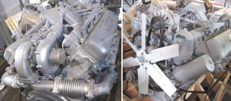 Двигатель ЯМЗ-238НД-5 (К-744Р1) старт., генерат., ТКР