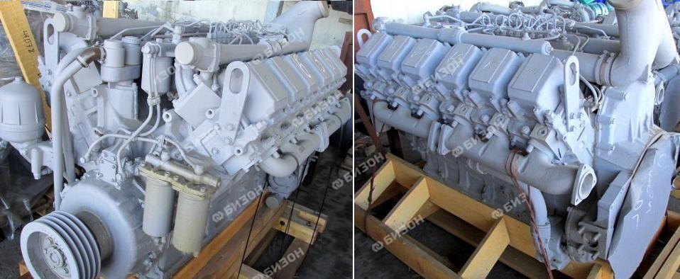 Двигатель ЯМЗ-240БМ2-4 (К-701) раздельн. головки