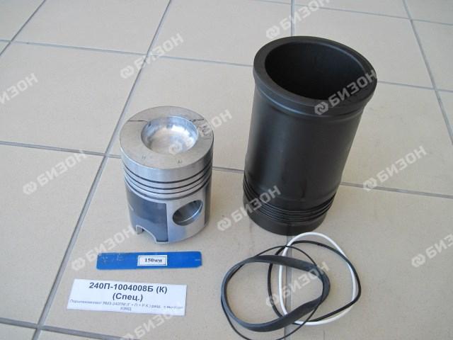 Поршнекомплект ЯМЗ-240ПМ (Г + П + РК) разд. с выкусом КЗМД
