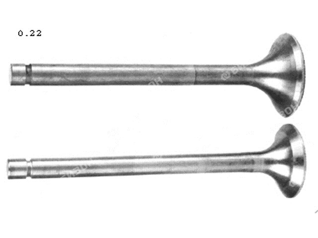 Клапан впускной Д-240, Д-65 (фаска -45град.)