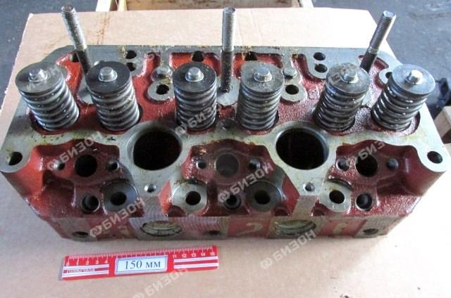 Головка цилиндров с клап. Д-260, МТЗ, под свечи накал. (ММЗ)