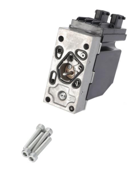Блок электронный насоса-дозатора рулевого управления с AUTOGUIDE (MT500В/D,600C/D Челленжер)