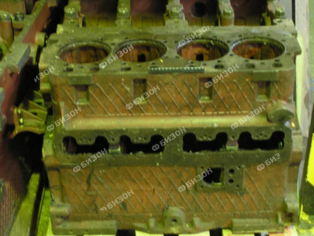 Блок цилиндров А-41 б/отв. масл. форсунки, под сплошную головку(ВОССТАВНОВЛЕННЫЙ)