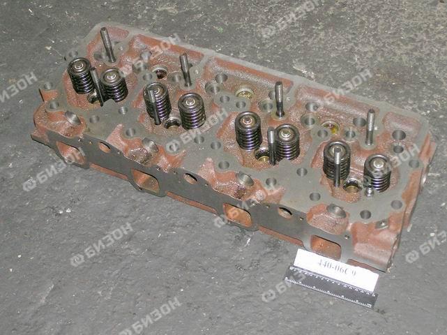 Головка цилиндров с клап. (Д-440)-под поршни с проточкой