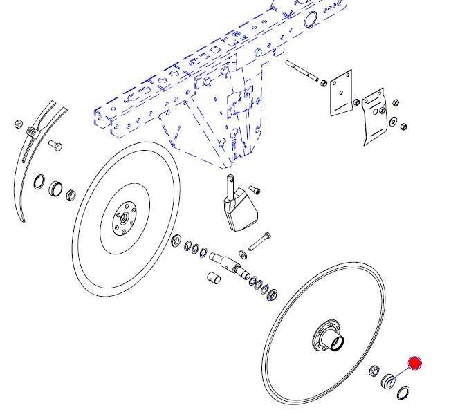 Пыльник диска сошника Ф35 (Матермак)