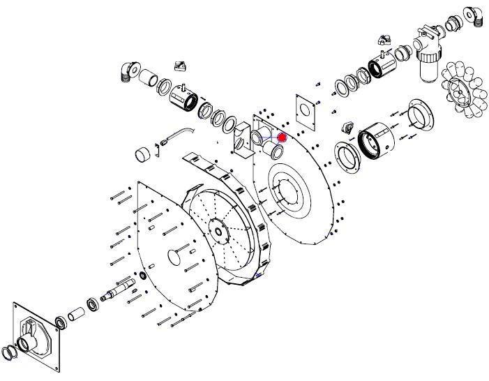 Патрубок вентилятора (MSO Матермак)