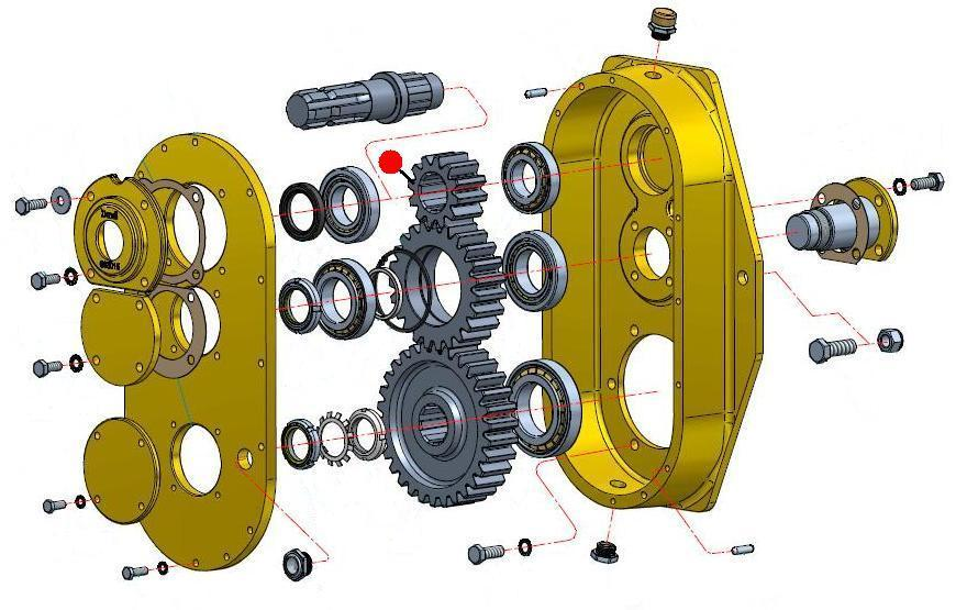 Шестерня редуктора Z12 DMR65B DBR65R/75