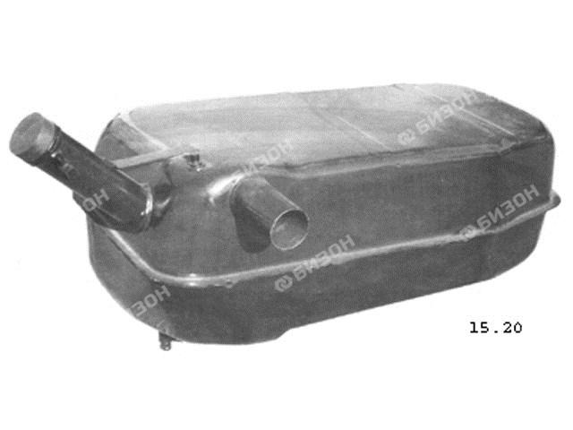 Бак топливный МТЗ-80/82 (левый, с горловиной) (65 л.) металл. (МТЗ)