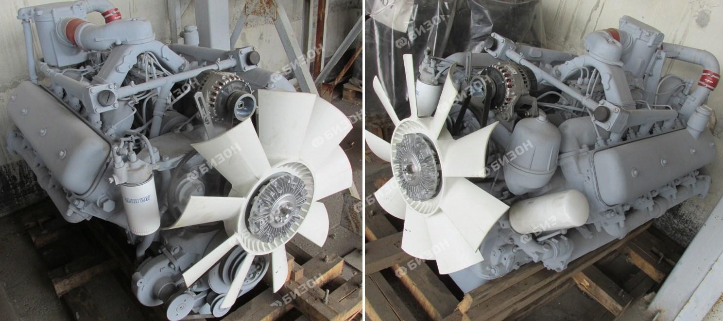 Двигатель ЯМЗ-7511 К-700 400 л.с. охл. ТМЗ (Альтернативная сборка)