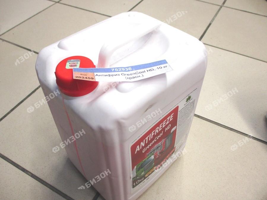 Антифриз GreenCool HD, 10 кг (красн.)