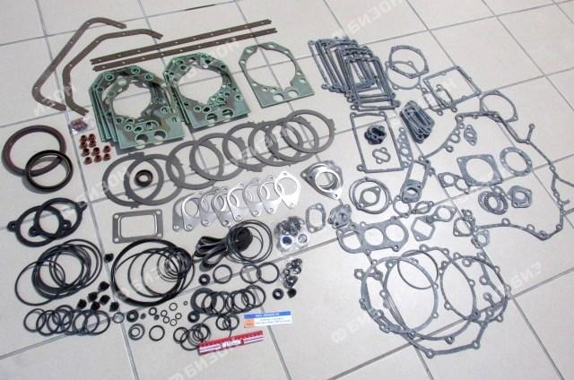 Комплект прокладок ЯМЗ-8421-8486 (ТМЗ)(полный)