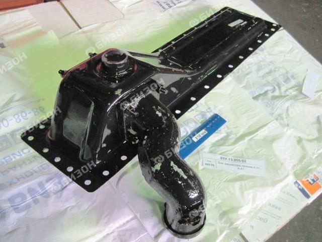 Бак радиатора нижний А-01, А-41 с патрубком
