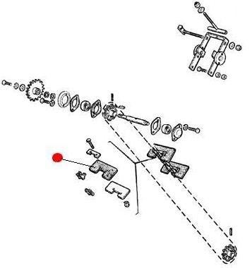 Скребок зернового элеватора (CH647 Челленжер)