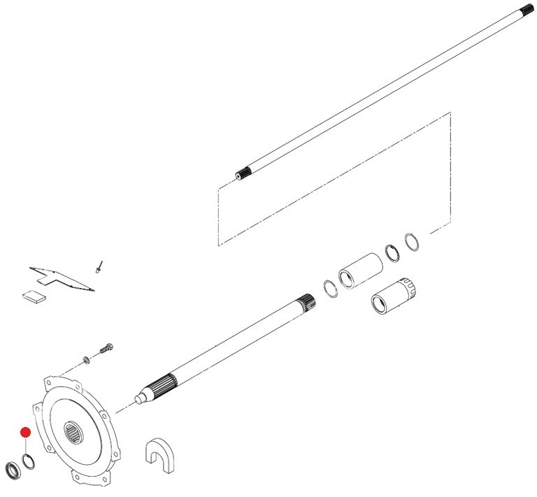 Кольцо стопорное 62х2 DIN472 (Valtra T190,T193H)