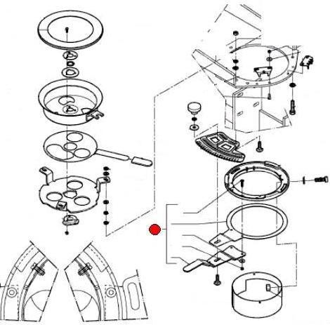 Рукоятка регулир. нормы разбрасывания (замена VNB2068578) (Квернеленд, RS-M 1050)